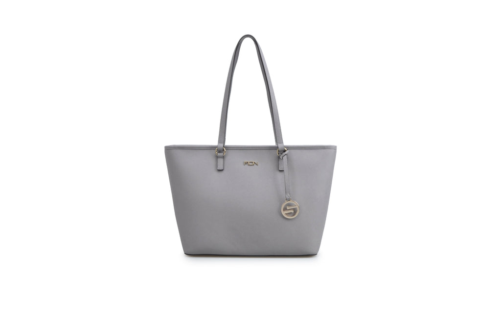 Saffiano Leather Tote Handbag