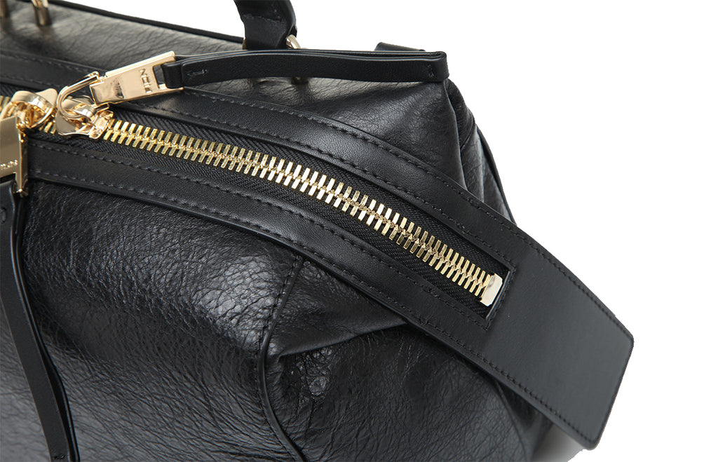 Erin Leather Top Handle Handbag