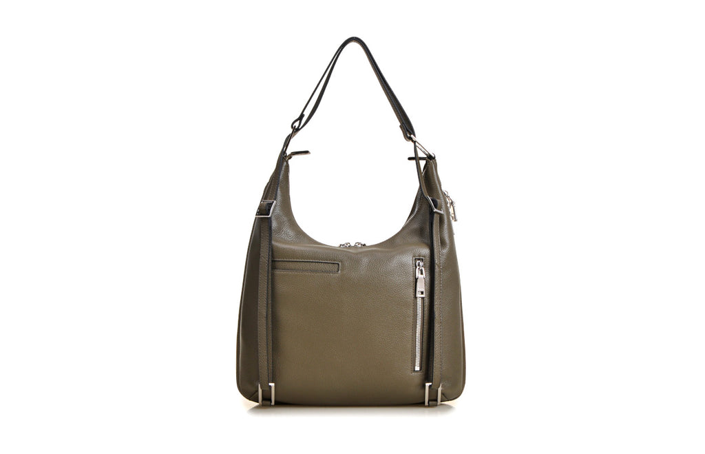 Modern Cow Leather 2-ways Bag