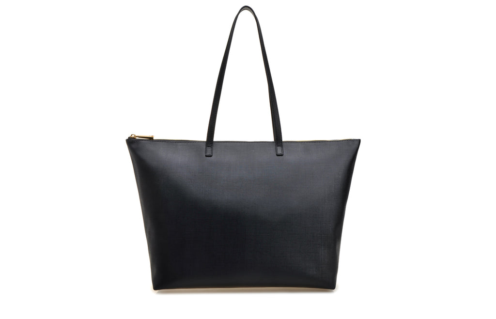 FION X British Museum Leather with PVC Tote HandBag