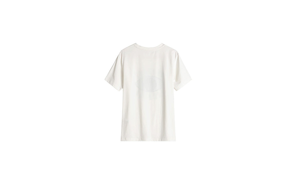 Little Mons Single Eye T-Shirt for Adults - White