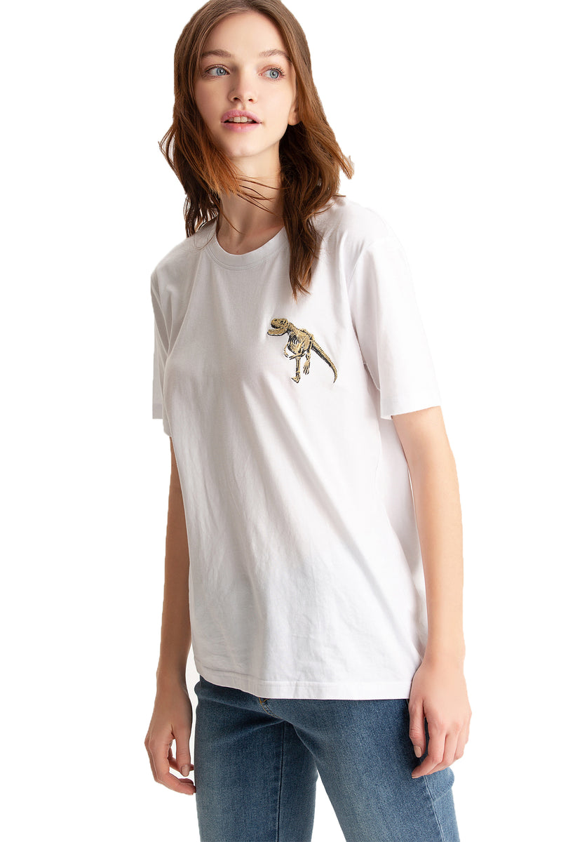 JURASSIC WORLD T-Rex Skeleton T-Shirt