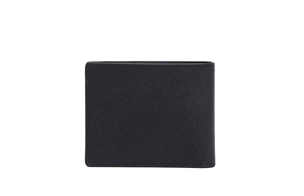 Cross Leather Short Wallet