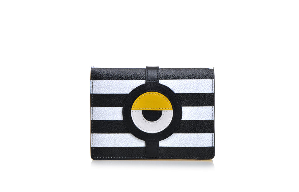 Minions PVC with Leather Short Wallet