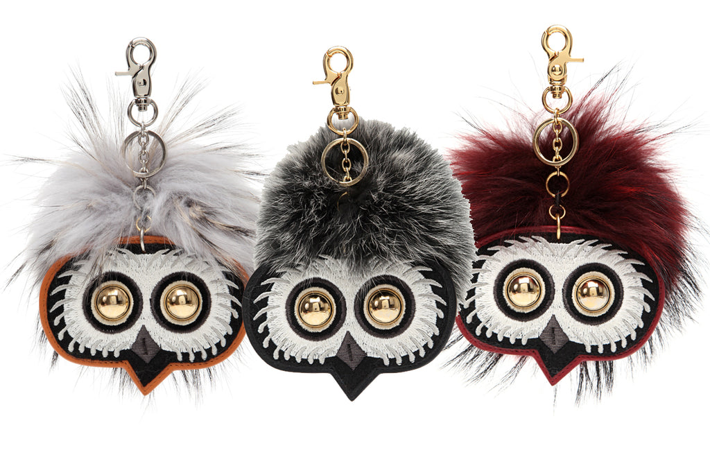 FION X The British Museum Greek Owl Handbag Charm