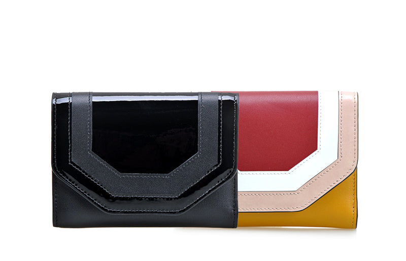 Spectrum Leather Short Wallet