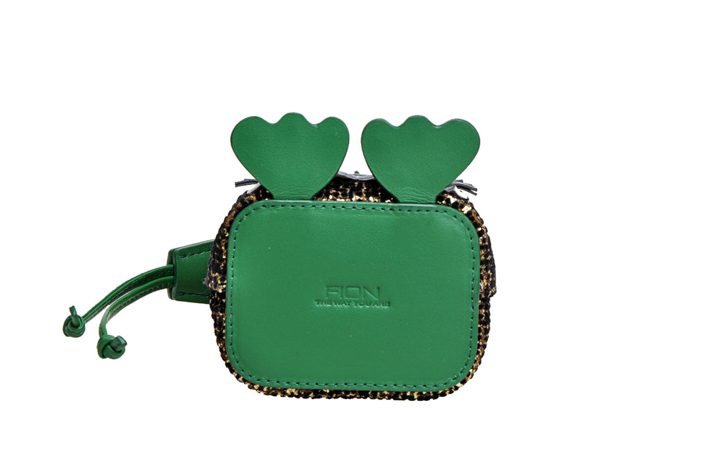 Little Mons Leather Mini Handbag