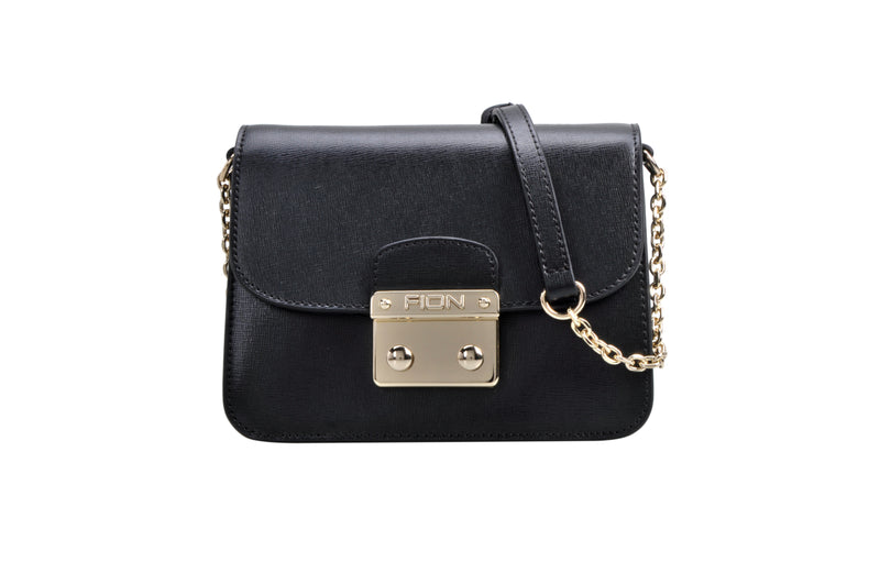 Succinct Leather Crossbody & Shoulder Handbag
