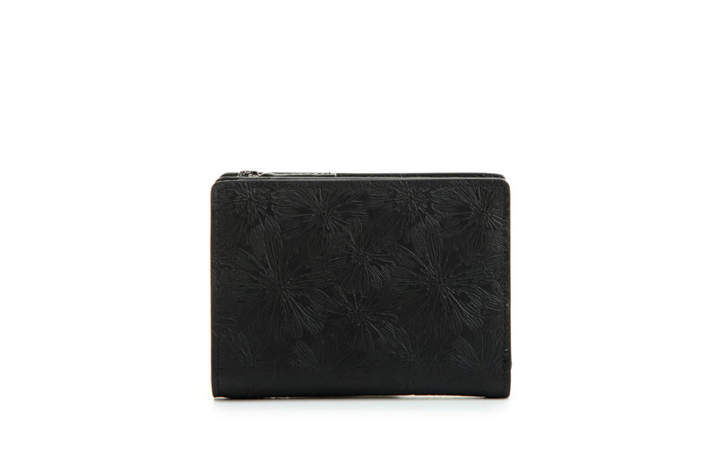 Daisy Leather Short Wallet