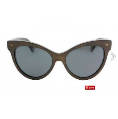 Valencia - Brown Bamboo Sunglasses