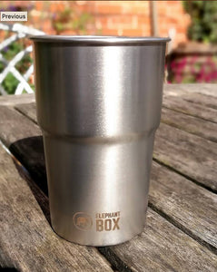 Stainless Steel Pint Cup. UK MADE