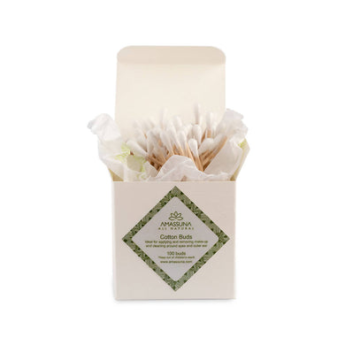 Biodegradable Cotton Buds - Eco-Friendly - Pack of 100