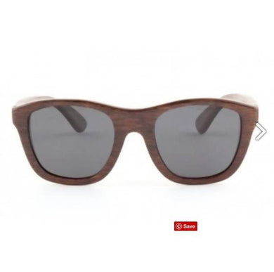 Victoria - Brown Bamboo Sunglasses