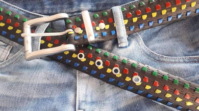 Personalized Statement Belt on Your Request