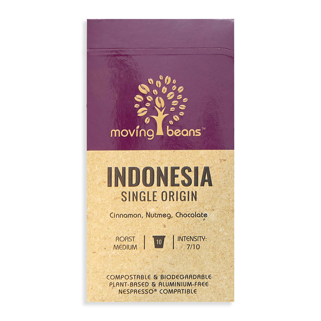 Indonesia Single Origin - 10 Biodegradable Nespresso Capsules