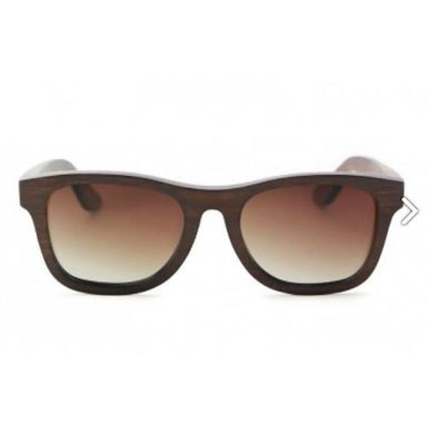 Monroe – Brown (Brown Fade) Bamboo Sunglasses