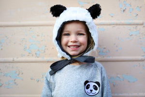 Kids Unisex Organic Cotton Panda Sweatshirt