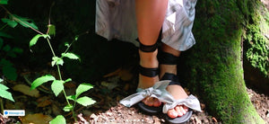 DIY & Vegan Car Tire Sandals with Interchangeable Straps