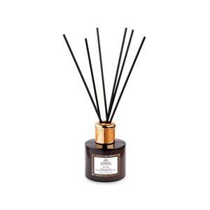 "Black Luxury Scent Diffuser With Essential Oils - ""Stress Relief"" – Rosemary, Lavender & Clary Sage 100ml"