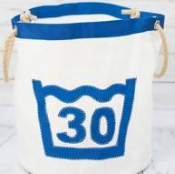 Upcycled Sailcloth Laundry Bucket