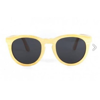 Wesli - Natural Bamboo Sunglasses