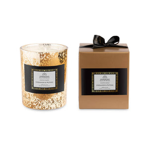 Deluxe Soy Scented Candles - Cinnamon & Nutmeg 220g