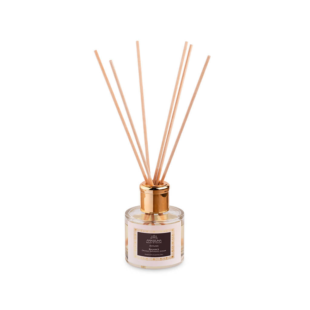Clear Luxury Scent Diffuser With Essential Oils -