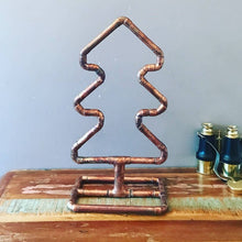 Copper Pipe Table top Christmas tree