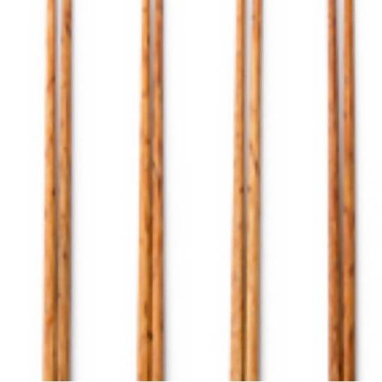 Wooden Coconut Chopsticks - Four Sets