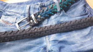 Ocean Blue Bicycle Tire Belt