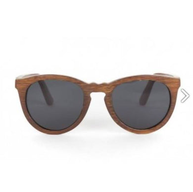 Wesli - Brown Bamboo Sunglasses