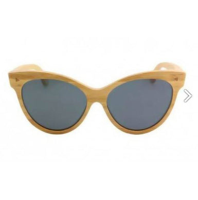 Valencia - Honey Bamboo Sunglasses
