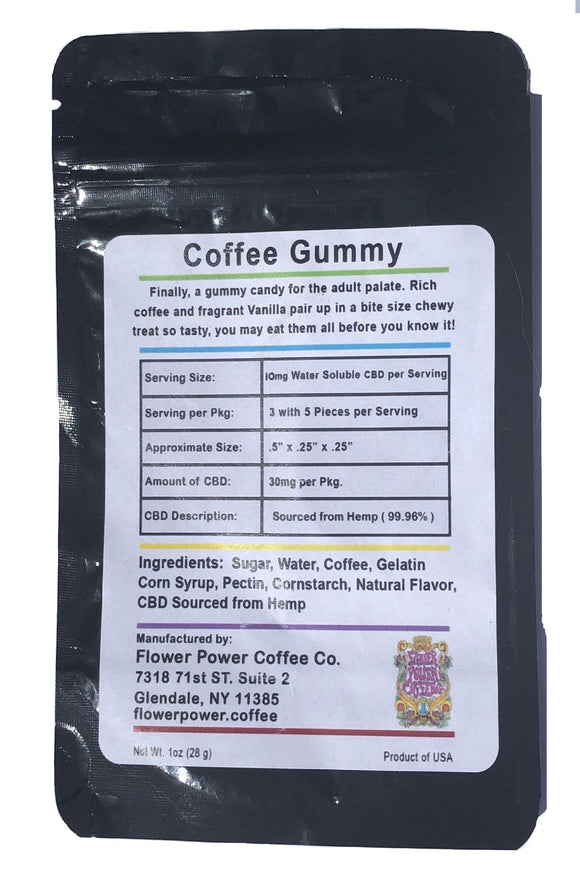 Infused Coffee Yummy Gummies