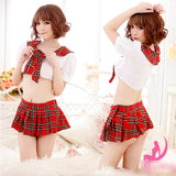 Costume Cosplay Plaid Fancy Dress Product Details 80622_3