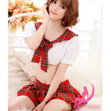 Costume Cosplay Plaid Fancy Dress Product Details 80622_4