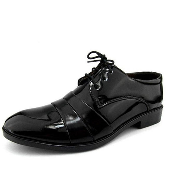 Faux Leather Formal Oxford Shoes 39-44
