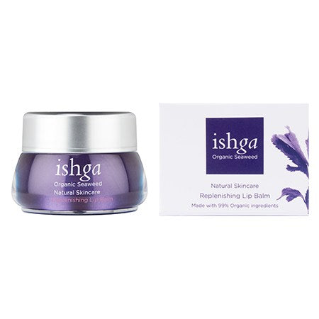 ishga Replenishing Organic Lip Balm