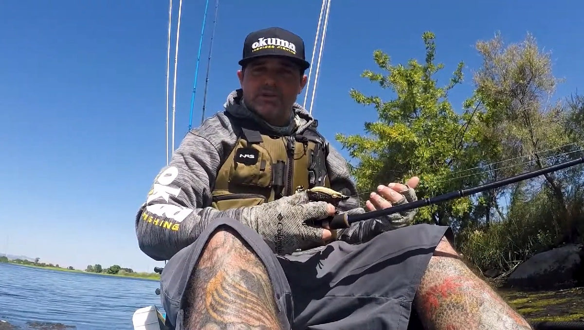 Okuma How-To: Frogging From A Kayak with Will Doud-Martin