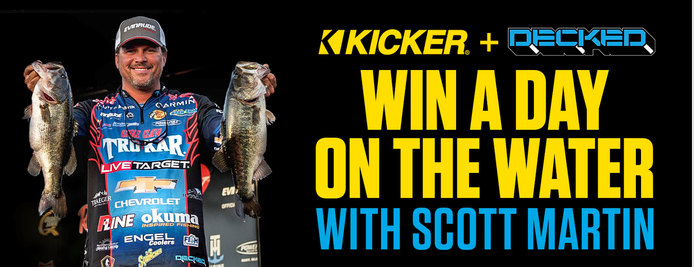 Win a trip to fish with Scott Martin