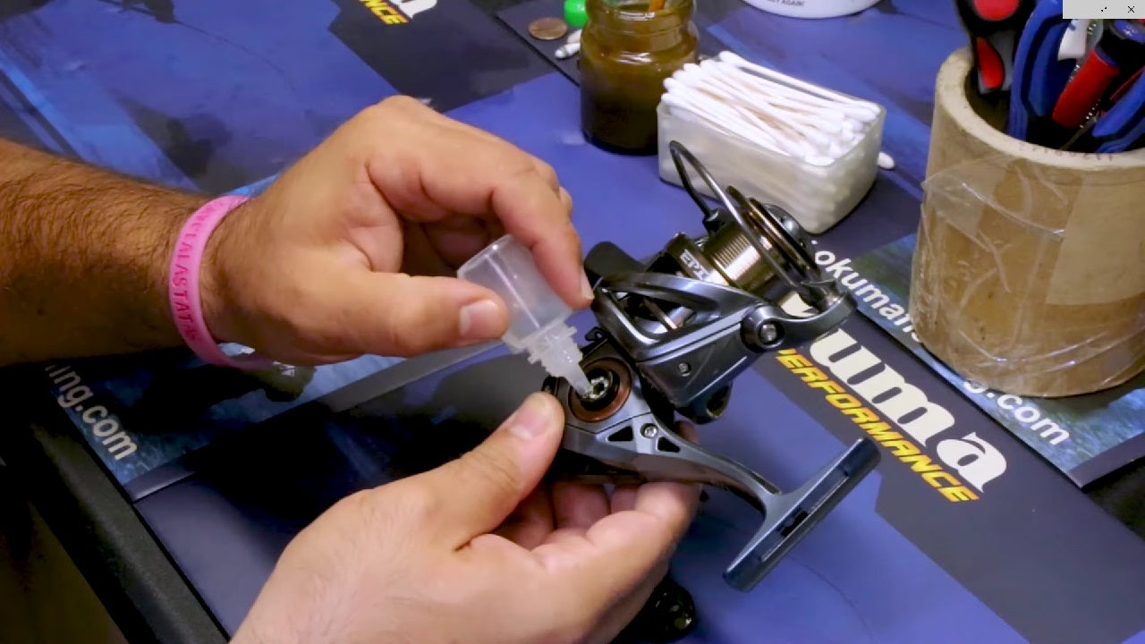 How to Care For and Lubricate Your Okuma Spinning Reel