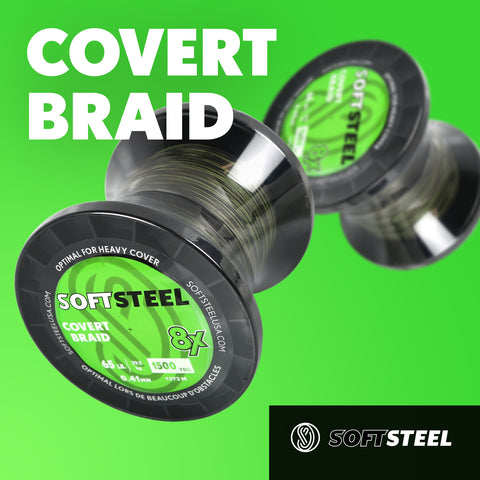 Soft Steel Covert Braid