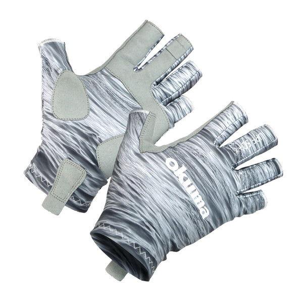 Okuma UPF Sun Fishing Gloves