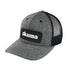 Okuma Mesh Back Heather Grey Black Patch Hat
