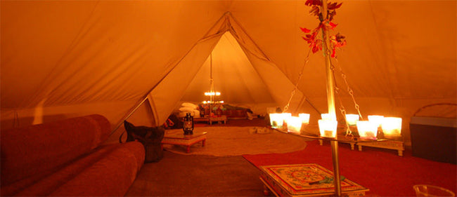 6M Twin Ultimate Bell Tent
