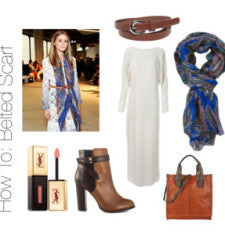 Fresh and Elegant Ways to Wear Scarves