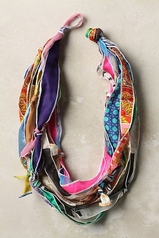 scarf strip necklace 1