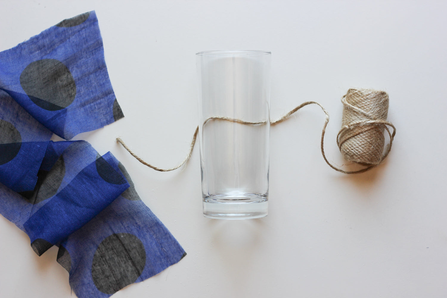 DIY Glass Napkin Step 2