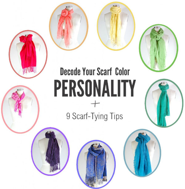 Decode Your Scarf Color Personality