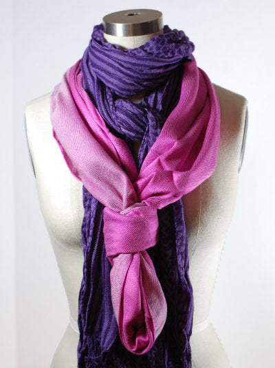 Double Scarf Loop Knot
