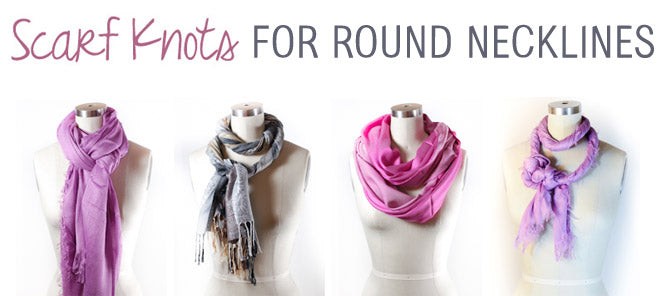 Four Knots for a Round Neckline